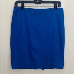 EXPRESS Royal Blue High Waisted Skirt